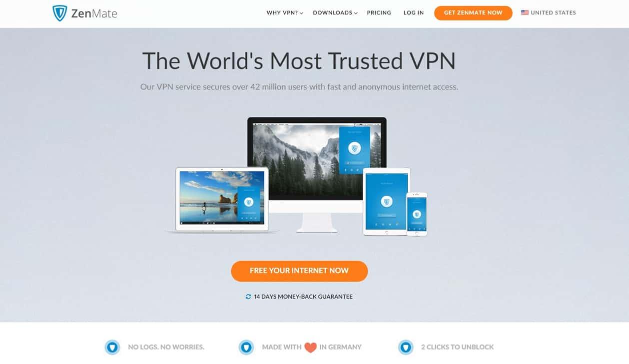 Обзор ZenMate VPN